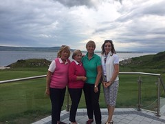 Lady Captain Alison Evans Away Day at Greencastle Golf Club
