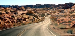 Valley Of Fire (Prayitno / Thank you for (12 millions +) view) Tags: valley of fire red rock natural winding road street state park nv nevada las vegas day time desert outdoor beauty