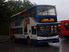 Stagecoach TransBus Trident (TransBus ALX400) 18127 KN04 XJB (Alex S. Transport Photography) Tags: bus outdoor road vehicle stagecoach stagecoachmidlandred stagecoachmidlands unusual alx400 alexanderalx400 dennistrident trident transbustrident transbusalx400 routex46 18127 kn04xjb