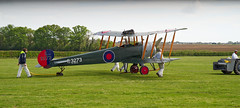 Avro 504K (Nigel Musgrove-2.5 million views-thank you!) Tags: built 1918 this avro 504k features for shuttleworth collection season premiere old warden bedfordshire england 5 may 2019 biplane wwii british e3273 raf trainer reach skies douglas bader