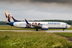 D-ASXJ (PlanePixNase) Tags: aircraft airport planespotting haj eddv hannover langenhagen sunexpress boeing 737800 b738 737 xmen