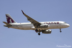 Malta International Airport (Redeemer_Saliba) Tags: qatar airways airbus a320232wl a7ahq landing lmml luqa airport rwy 13