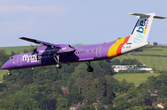 G-JEDP_20 (GH@BHD) Tags: gjedp dehavilland bombardier dhc dhc8 dhc8402q dasheight be bee flybe bhd egac belfastcityairport turboprop propliner aircraft aviation airliner