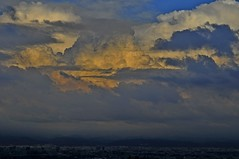 Sunset clouds above Taichung (mattlaiphotos) Tags: clouds sunset evening light scenery landscape taichung taiwan sky