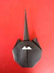 Flat-Cat . Gatto-Piatto - Stefano Borroni (Stefano Borroni (Stia)) Tags: origami origamipaper origamicdo origamilove origamiart piegarelacarta arte folding foldingpaper papiroflexia carta animali natura wwf gatto gatti cat cats flatcat gattopiatto cdoitalia