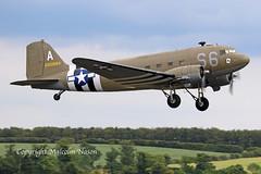 DOUGLAS C47A N147DC\42-100884 ACES HIGH\USAF (shanairpic) Tags: propliner dc3 c47 li2 duxford normandy
