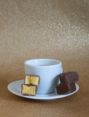 2019 Sydney: Coffee + Chocolate Coated Honeycomb (dominotic) Tags: food coffee chocolate sydney australia foodphotography 2019 chocolatecoatedhoneycomb coffeeobsession yᑌᗰᗰy confectionery