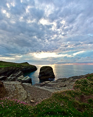 First proper go at a #panorama (j.r._photos) Tags: panorama earth landscape sunset travel wideangle sea coast earthporn nature