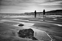 Sandsend (mycoil) Tags: bw blackandwhite coast sea beach sony rx1 sonnar northyorkshire