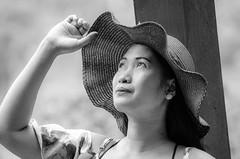 Pen (Taiwan) (su4jsus) Tags: people asia taiwan taipei yangminshan portraits color blackandwhite light poses candid