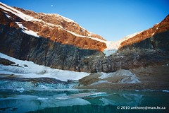 Mount Edith Cavell Summer (anthonymaw) Tags: alberta canada jasper landscape mountains nationalpark river travel unesco waterfall