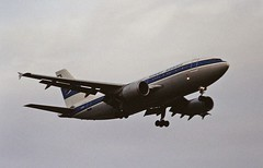 A6-KUD A310 Kuwait Airways LHR 19-06-93 (cvtperson) Tags: a6kud a310 kuwait airways london heathrow lhr egll