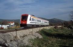 7 123 007  Labin  21.04.19 (w. + h. brutzer) Tags: labin eisenbahn eisenbahnen train trains jugoslawien diesel railway triebzug triebwagen zug webru analog nikon vt