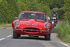 Jaguar E Type (1966) (Roger Wasley) Tags: jaguar etype dkh800c prescott gloucestershire classic sports car vehicle