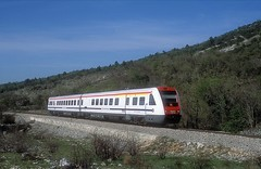 7 123 007  Perkovic  21.04.19 (w. + h. brutzer) Tags: perkovic eisenbahn eisenbahnen train trains jugoslawien diesel railway triebzug triebwagen zug webru analog nikon vt