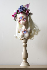 [Commission] Seer (Little) Sister (koalakrashdolls) Tags: bjd doll bjdoll dollfiedream obitsu parabox dollce dolls koalakrash koala krash art arttoy toy sculpture beautiful bizarre creepy uncanny eyes seer