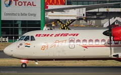 Air India ATR 72-600 | VT-AIT (AEROPLANE SPOTTERS) Tags: love photography planes planespotting aviation aviationphotography airindia atr72600 turboprob aeroplanes planespotters aeroplanespotters airbus aviationphotographer beautiful hobby aircrafts