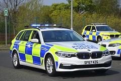 SF67 KZG (S11 AUN) Tags: police scotland bmw 530d xdrive estate touring anpr traffic car drpu divisional roads policing unit rpu 999 emergency udivision sf67kzg