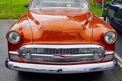 Custom Chevy (mrgraphic2) Tags: indianapolis indiana car custom shiny chevy orange grill brand headlights