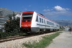 7 123 008  Stari Sucurac  15.04.19 (w. + h. brutzer) Tags: starisucurac eisenbahn eisenbahnen train trains jugoslawien diesel railway triebzug triebwagen zug webru analog nikon vt