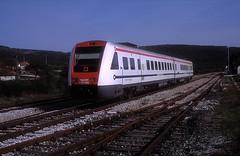 7 123 008  Labin  21.04.19 (w. + h. brutzer) Tags: labin eisenbahn eisenbahnen train trains jugoslawien diesel railway triebzug triebwagen zug webru analog nikon vt
