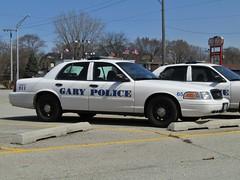 Gary Police Department (Evan Manley) Tags: indiana policecar lawenforcement policedepartment fordcrownvictoria garypolicedepartment garyindianapolicedepartment