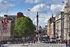 Union Flags (Nige H (Thanks for 20m views)) Tags: city cityscape urban london whitehall unionflag trafalgarsquare england