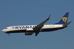 EI-FRK (LIAM J McMANUS - Manchester Airport Photostream) Tags: eifrk ryanair fr ryr boeing b737 b738 738 b73h 73h boeing737 boeing737800 egcc manchester man
