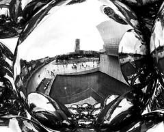 Bilbao Guggenheim (paulmarinbmw) Tags: bilbao guggenheim rain bw