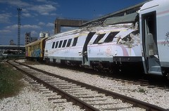 7 123 009  Solin  20.04.19 (w. + h. brutzer) Tags: solin eisenbahn eisenbahnen train trains jugoslawien diesel railway triebzug triebwagen zug webru analog nikon vt