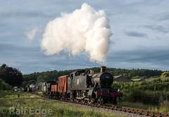 5199 leaves Whitehead (ralfedge) Tags: prarie steam dfr freight