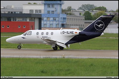"CESSNA525 Citationjet CJ1+ LUFTHANSA ""FLIGHT TRAINING"" D-ILHE 525-0664 Entzheim avril 2019 (paulschaller67) Tags: cessna525 citationjet cj1 lufthansa flighttraining dilhe 5250664 entzheim avril 2019"