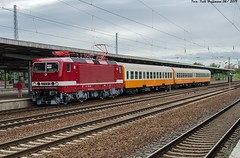 243 936 EBS Bln-Schönefeld 08.06.2019 (Falk Hoffmann) Tags: elok eisenbahn reichsbahn reisezug sonderzug sonderfahrt bahnhof ebs br143 br243 städteexpres