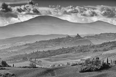 Vald'orcia-1 (rwscholte) Tags: italy tuscany toscana toscane bw blackandwhite bnw valdorcia pentax pentaxk1 28105mm