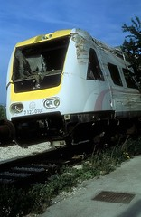 7 123 010  Solin  22.04.19 (w. + h. brutzer) Tags: solin eisenbahn eisenbahnen train trains jugoslawien diesel railway triebzug triebwagen zug webru analog nikon vt