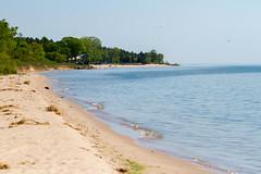 Neshotah Beach from Harbor Park