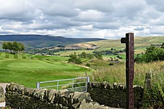 You can see a 'fair-way' - the view across New Mills Golf Course towards Kinder..... (HighPeak92) Tags: viewstowardskinder kinder pennineway golfcourses newmillsgolfcourse newmills peakdistrict derbyshire canonpowershotsx700hs