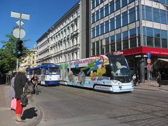 Latvia - Riga trams (onewayticket) Tags: tram transport urban rsriga rigassatiksme tatra t3a tatrat3a skoda 15t skoda15t street city riga latvia alloverlivery