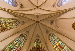 St. Lambertus in Hoetmar (ulrichcziollek) Tags: nordrheinwestfalen münsterland hoetmar gotik gotisch gewölbe kirche kreuzrippengewölbe