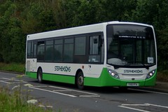 Army of One: Stephensons of Essex (ex Abellio London 8540) ADL Enviro200 YX10FFA (445) Cambridge Road Ugley Green 11/06/19 (TheStanstedTrainspotter) Tags: bus buses public transport vehicle publictransport bishopsstortford bishopsstortfordinterchange stansted stanstedmountfitchet saffronwalden 301 newport audleyend quendon ugley widdington stephensonsofessex stephensons essex adl alexander dennis alexanderdennis e200 enviro200 yx10ffa 445 abellio london abelliolondon 8540 ecc essexcountycouncil cambridgeroad