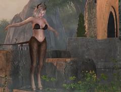 #473 (Violet Batriani   Blogger   Model) Tags: secondlife blog fashion rp roleplay fantasy fair avatar fantasyfair faunus bento virtual cute