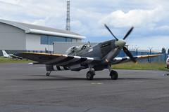 G-ILDA (SM520) Supermarine Spitfire TR9 (graham19492000) Tags: leeonsolent gilda sm520 supermarine spitfiretr9