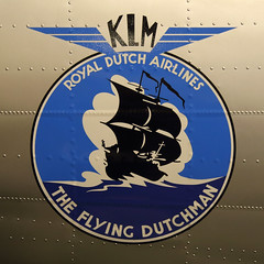 The Flying Dutchman (Treflyn) Tags: flying dutchman klm logo side douglas dc3 phtcb lelystad aviodrome netherlands
