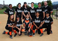 (NYCPSAL) Tags: 201819softballjvsemifinalsbushwickcampus1vtottenville17 201819 softball public schools athletic league junior varsity bushwick campus tottenville high school new york city department education girls playoffs randalls island