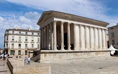 La Maison Carrée (Bernard C**) Tags: canon france occitanie languedoc gard nîmes maisoncarrée antique romanité temple templeromain