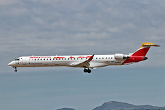 EC-MNQ Canadair RJ-X Air Nostrum Visita Vigo, Cíes Islands CS PMI 28-05-19 (PlanecrazyUK) Tags: lepa sonsantjoanairport aeroportdesonsantjoan palmademallorcaairport ecmnq canadairrjx airnostrum visitavigocíesislandscs pmi 280519