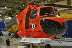 Bristol Sycamore HR12 (WV783) (Bri_J) Tags: rafmuseum hendon london uk museum airmuseum aviationmuseum aircraft nikon d7500 bristolsycamore hr14 bristol sycamore helicopter raf orange wv783