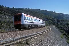 7 123 013  Labin  17.04.19 (w. + h. brutzer) Tags: labin eisenbahn eisenbahnen train trains jugoslawien diesel railway triebzug triebwagen zug webru analog nikon vt