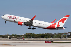 C-FMXC / Air Canada Rouge / Boeing 767-333(ER)(WL) (Charles Cunliffe) Tags: canon7dmkii aviation fortlauderdale–hollywoodinternationalairport kfll fll aircanadarouge rou rv boeing767 767300er cfmxc