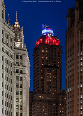 Medinah Athletic Club (20190525-DSC03483) (Michael.Lee.Pics.NYC) Tags: chicago architecture cityscape night medinahathleticclub intercontinentalhotel wrigleybuilding sony a7rm2 fe24105mmf4g tribunetower michiganwackerhistoricdistrict
